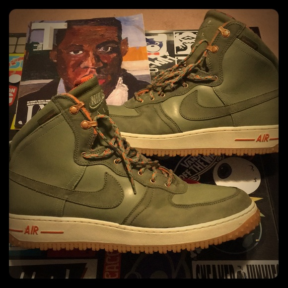 premium selection f58e5 4e669 Nike Air Force 1 Hi  DCNS, MTRY, Boot SZ. 14 GREEN.  M 5a4594fa8df470f5c90f0bdf
